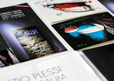 iService-Ausstellungen Ausstellungskonzeption Kunstausstellung im Stift Ossiach, In- & Outdoor. Fabrizio Plessi, Julie Hayward uvm. 06