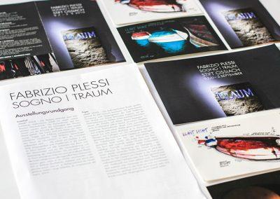 iService-Ausstellungen Ausstellungskonzeption Kunstausstellung im Stift Ossiach, In- & Outdoor. Fabrizio Plessi, Julie Hayward uvm. 02