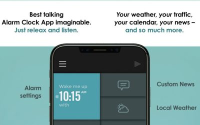 Now on the Appstore: TalkClok The Talking Alarm Clock App