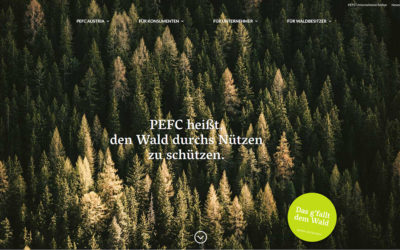 New website PEFC Austria