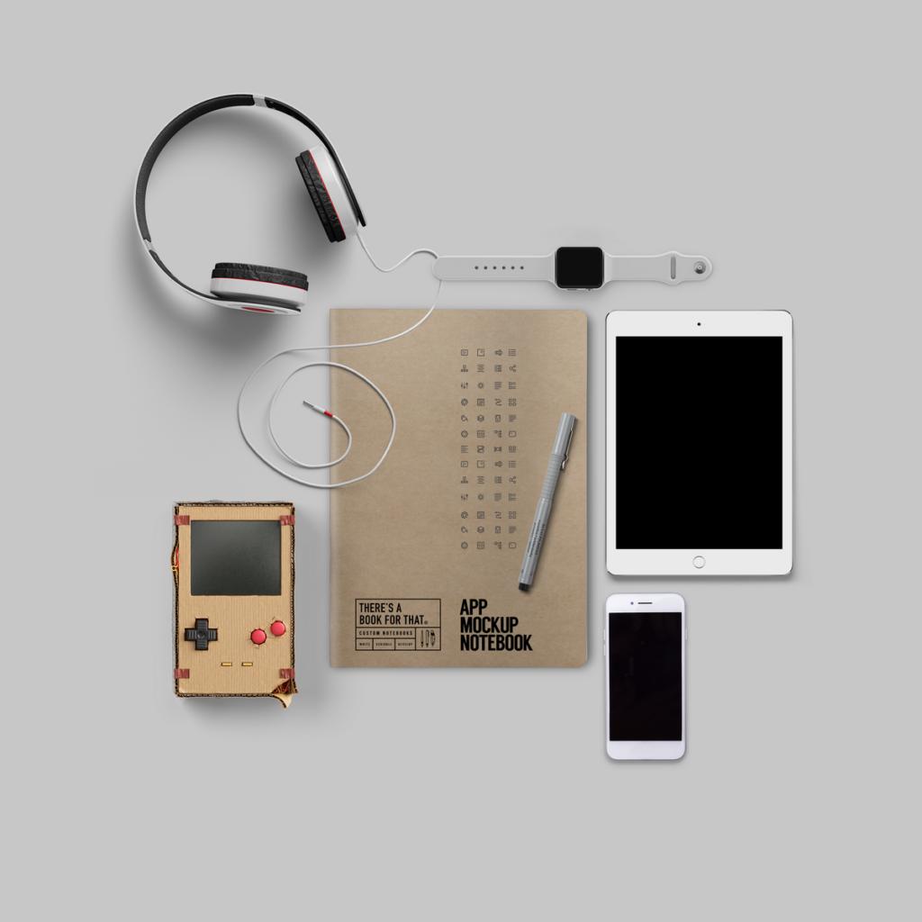 B-115_App-Mockup-Notebook