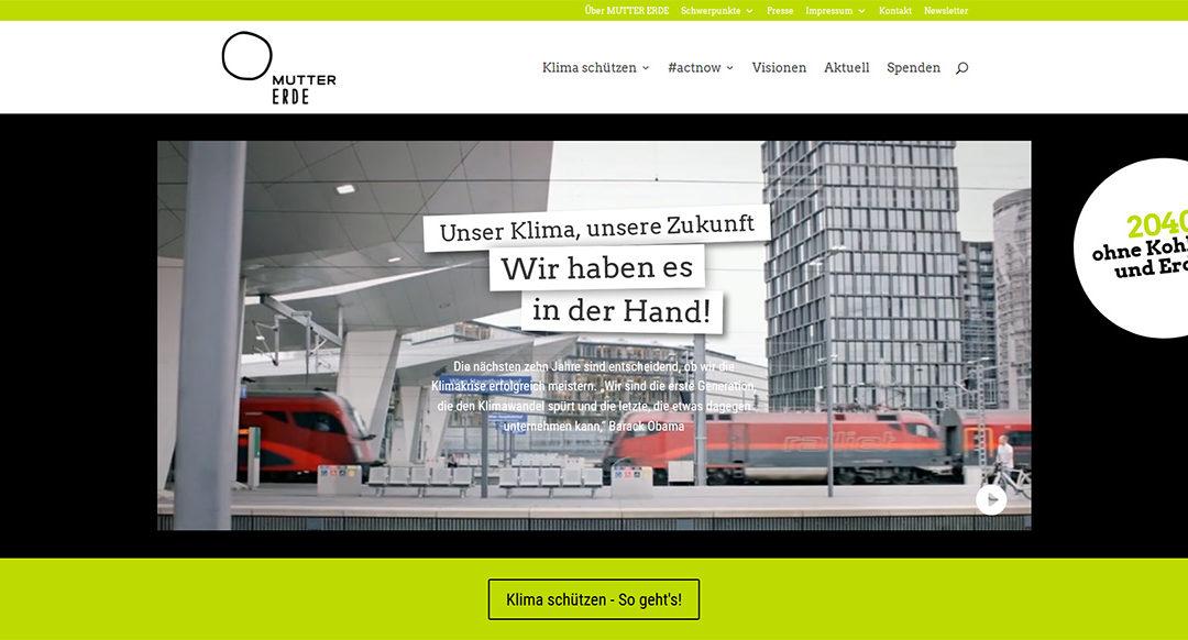 Online Kampagnenführung MUTTER ERDE 2020