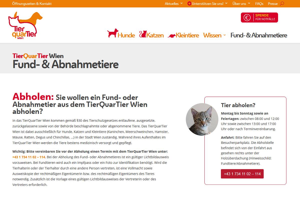 relaunch-website-tierquartier-wien-iservice-medien-und-werbeagentur-wien