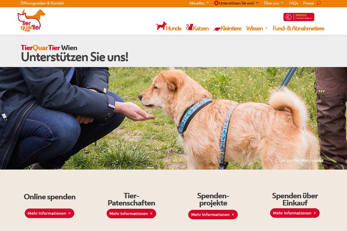 relaunch-website-tierquartier-wien-spenden-iservice-medien-und-werbeagentur-wien