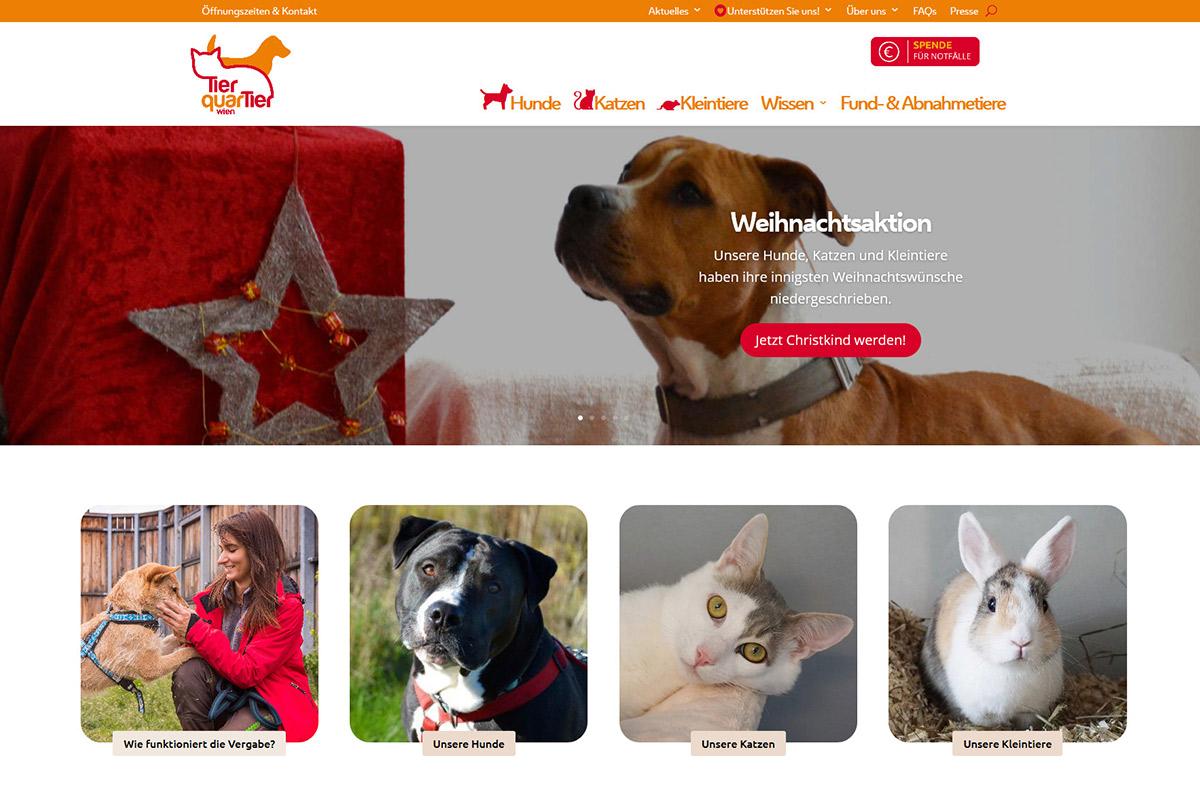 relaunch-website-tierquartier-wien-startseite1-iservice-medien-und-werbeagentur-wien