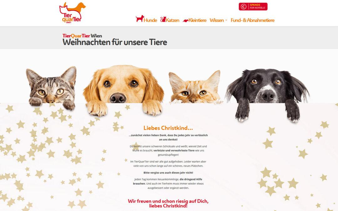 Relaunch Website TierQuarTier Wien