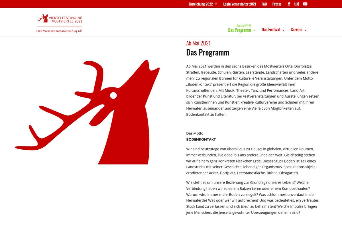 viertelfestival-screendesign-konzeption-iservice-agentur-wien-startseite-neue-homepage