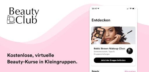 Video & Animation Beauty Club App von Clinique